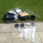 Aufbau des Weber Compact